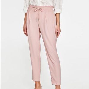 NWOT Zara Basic Jogging Waist Trousers